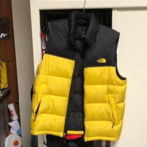 MEN'S 1996 RETRO NUPTSE VEST condition used 8/10